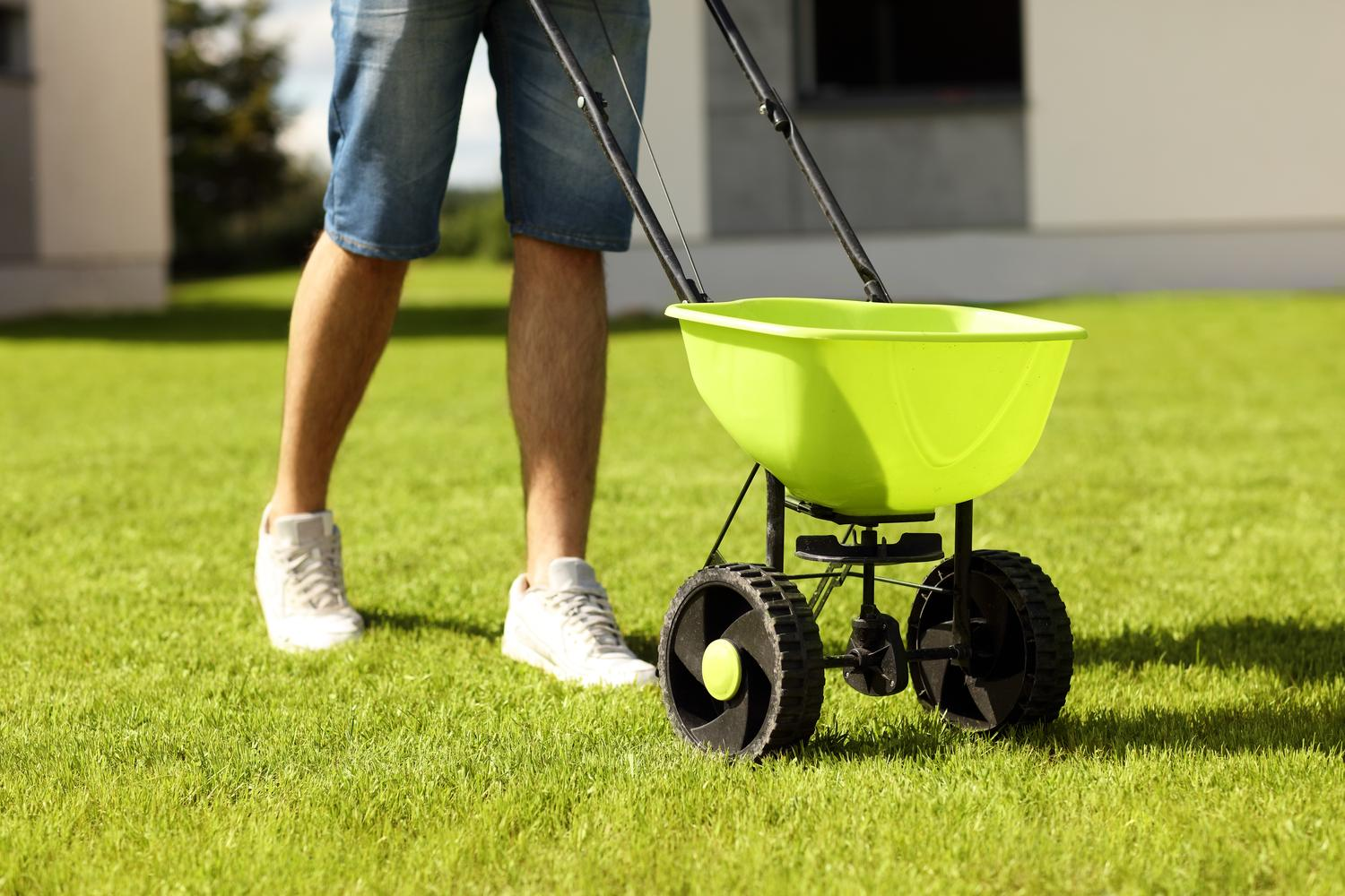 FERTILIZER SPREADER FOR YOUR LAWN