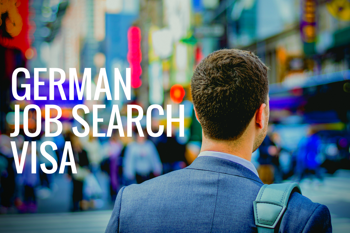 Job search visa Germany