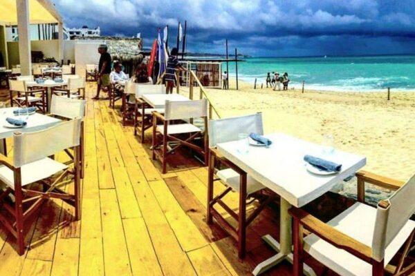 best beachfront restaurants in Antigua
