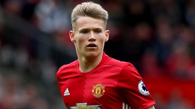 United starlet Scott McTominay to play for England
