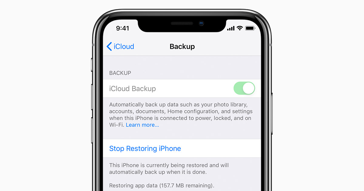 Restore But Never Lose Data