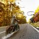 A Long Distance Motorbike Ride